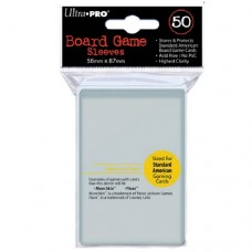 Ultra PRO 50 - Board Game Sleeves -Special Sized 56 X 87 透明牌套 -82914