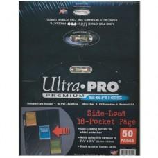 Ultra PRO 9格頁 3 孔 ( 有夾層 ) -82891