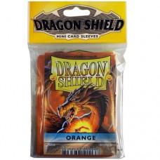 Dragon Shield 50 - Mini Size Deck Protector Sleeves - Orange - AT-10113