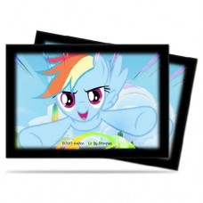 Ultra PRO 60 - Small Deck Protector Sleeves - My Little Pony - Rainbow Dash - 84221