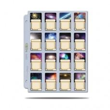 Ultra PRO - 16-Pocket Platinum Page with 41 mm x 63 mm Pocket - 84781