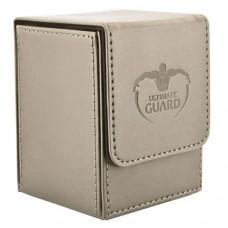 Ultimate Guard 100+ Flip Deck Case Leatherette Box - Sand - UGD010400