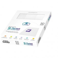 Ultimate Guard 18-Pocket Side-Loading Pages - White - UGD010483