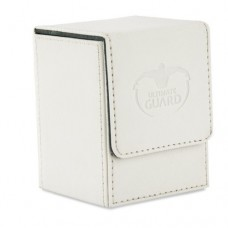 Ultimate Guard 100+ Flip Deck Case XenoSkin - White - UGD010387