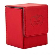 Ultimate Guard 100+ Flip Deck Case XenoSkin - Red - UGD010389
