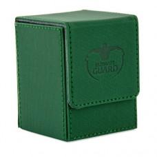 Ultimate Guard 100+ Flip Deck Case XenoSkin - Green - UGD010390