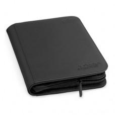 Ultimate Guard Zipfolio XenoSkin 4-Pocket - Black - UGD010351