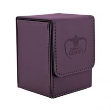 Ultimate Guard 100+ Flip Deck Case Leatherette Box - Purple - UGD010401