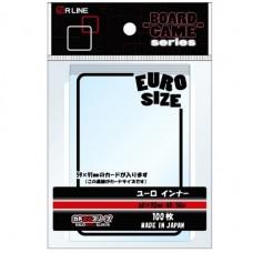 KADOMARU Sleeves 100 - Board Game Series: Euro Inner - 60 x 92 mm - 010150