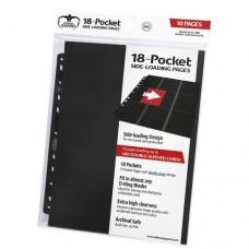 Ultimate Guard 18-Pocket Side-Loading 10 pages - Black - UGD010404