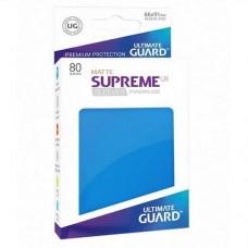 Ultimate Guard 80 - Supreme UX Sleeves Standard Size - Matte Royal Blue - UGD010559