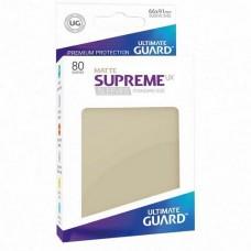 Ultimate Guard 80 - Supreme UX Sleeves Standard Size - Matte Sand - UGD010566