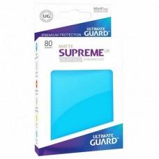 Ultimate Guard 80 - Supreme UX Sleeves Standard Size - Matte Light Blue - UGD010558