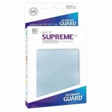 Ultimate Guard 80 - Supreme UX Sleeves Standard Size - Matte Transparent - UGD010552