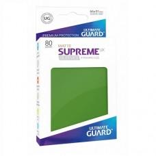 Ultimate Guard 80 - Supreme UX Sleeves Standard Size - Matte Green - UGD010554