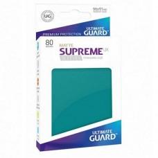 Ultimate Guard 80 - Supreme UX Sleeves Standard Size - Matte Petrol - UGD010555