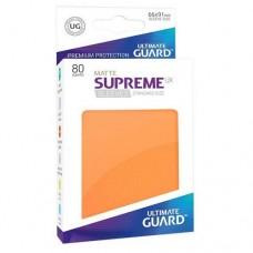 Ultimate Guard 80 - Supreme UX Sleeves Standard Size - Matte Orange - UGD010564