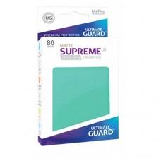 Ultimate Guard 80 - Supreme UX Sleeves Standard Size - Matte Turquoise - UGD010556
