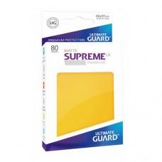 Ultimate Guard 80 - Supreme UX Sleeves Standard Size - Matte Yellow - UGD010565