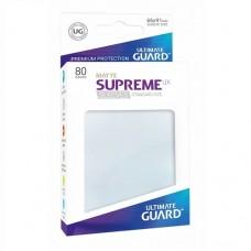Ultimate Guard 80 - Supreme UX Sleeves Standard Size - Matte Frosted - UGD010627