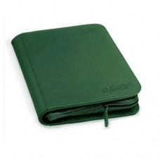 Ultimate Guard Zipfolio XenoSkin 4-Pocket - Green - UGD010353