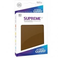 Ultimate Guard 80 - Supreme UX Sleeves Standard Size - Brown - UGD010547