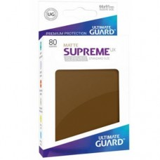 Ultimate Guard 80 - Supreme UX Sleeves Standard Size - Matte Brown - UGD010567