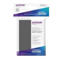 Ultimate Guard 50 - Supreme UX Sleeves Standard Size - Dark Grey - UGD010788