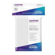 Ultimate Guard 50 - Supreme UX Sleeves Standard Size - White - UGD010789