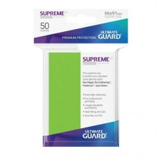 Ultimate Guard 50 - Supreme UX Sleeves Standard Size - Light Green - UGD010792