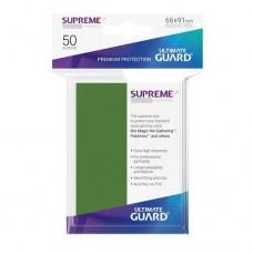 Ultimate Guard 50 - Supreme UX Sleeves Standard Size - Green - UGD010793