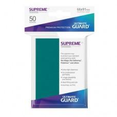 Ultimate Guard 50 - Supreme UX Sleeves Standard Size - Petrol Blue - UGD010794