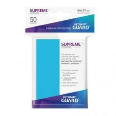 Ultimate Guard 50 - Supreme UX Sleeves Standard Size - Light Blue - UGD010797