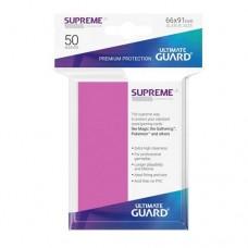 Ultimate Guard 50 - Supreme UX Sleeves Standard Size - Pink - UGD010801
