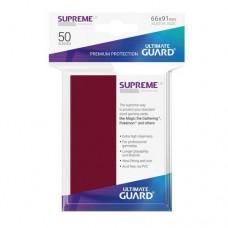 Ultimate Guard 50 - Supreme UX Sleeves Standard Size - Burgundy - UGD010803