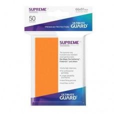 Ultimate Guard 50 - Supreme UX Sleeves Standard Size - Orange - UGD010804