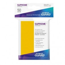 Ultimate Guard 50 - Supreme UX Sleeves Standard Size - Yellow - UGD010805