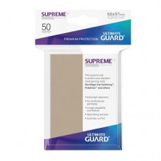 Ultimate Guard 50 - Supreme UX Sleeves Standard Size - Sand - UGD010806