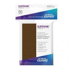 Ultimate Guard 50 - Supreme UX Sleeves Standard Size - Brown - UGD010807