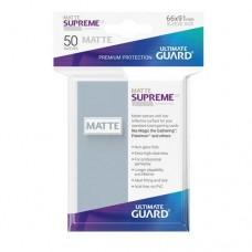 Ultimate Guard 50 - Supreme UX Sleeves Standard Size - Matte Transparent - UGD010811