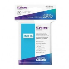 Ultimate Guard 50 - Supreme UX Sleeves Standard Size - Matte Light Blue - UGD010818