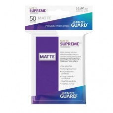 Ultimate Guard 50 - Supreme UX Sleeves Standard Size - Matte Purple - UGD010821