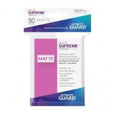 Ultimate Guard 50 - Supreme UX Sleeves Standard Size - Matte Pink - UGD010822
