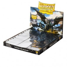 Dragon Shield  18-pocket Binder pages - Black - AT-10301