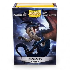 Dragon Shield 100 - Standard Deck Protector Sleeves - Matte Art Sleeve 'Draxis' - AT-12003