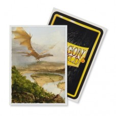 Dragon Shield 100 - Standard Deck Protector Sleeves - Art Sleeve The Oxbow - AT-12016