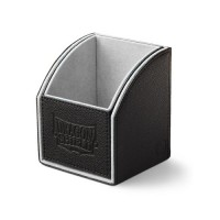 Dragon Shield Nest 100 Deck Box - Black/Light Grey - AT-40101