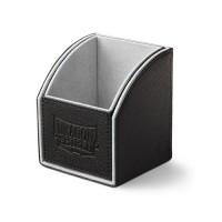 Dragon Shield Nest 100 Deck Box - Black/Light Grey - AT-40101