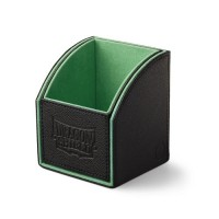 Dragon Shield Nest 100 Deck Box - Black/Green - AT-40102