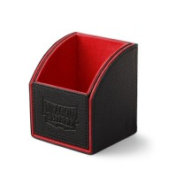 Dragon Shield Nest 100 Deck Box - Black/Red - AT-40104